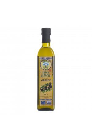 Масло оливковое 0,5 л ст/б Первого холодного отжима EVOO