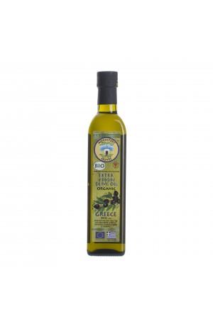 БИО ЭКО Масло оливковое Первого холодного отжима EVOO Organic 0,5 л ст/б