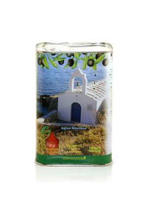 Масло оливковое 1,0 л ж/б Первого холодного отжима EVOO