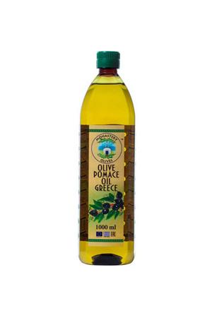 """Масло оливковое """"Помас""""рафинированное 1 л пласт/б для жарки"""