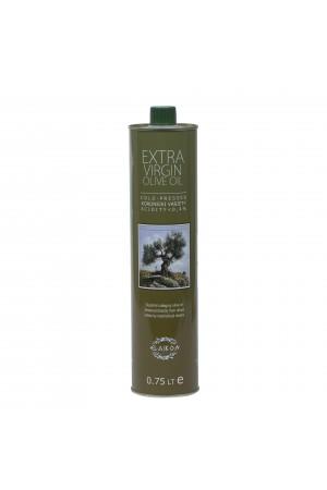 Масло оливковое 0,75 л ж/б Первого холодного отжима EVOO